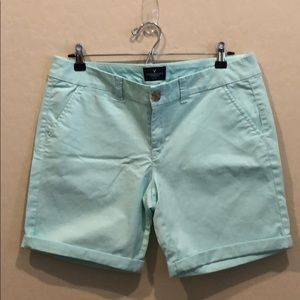 AEO Bermuda Stretch Shorts